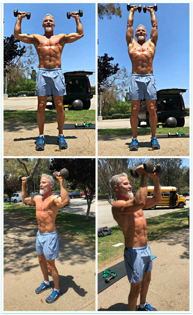 shoulder press with pec dec