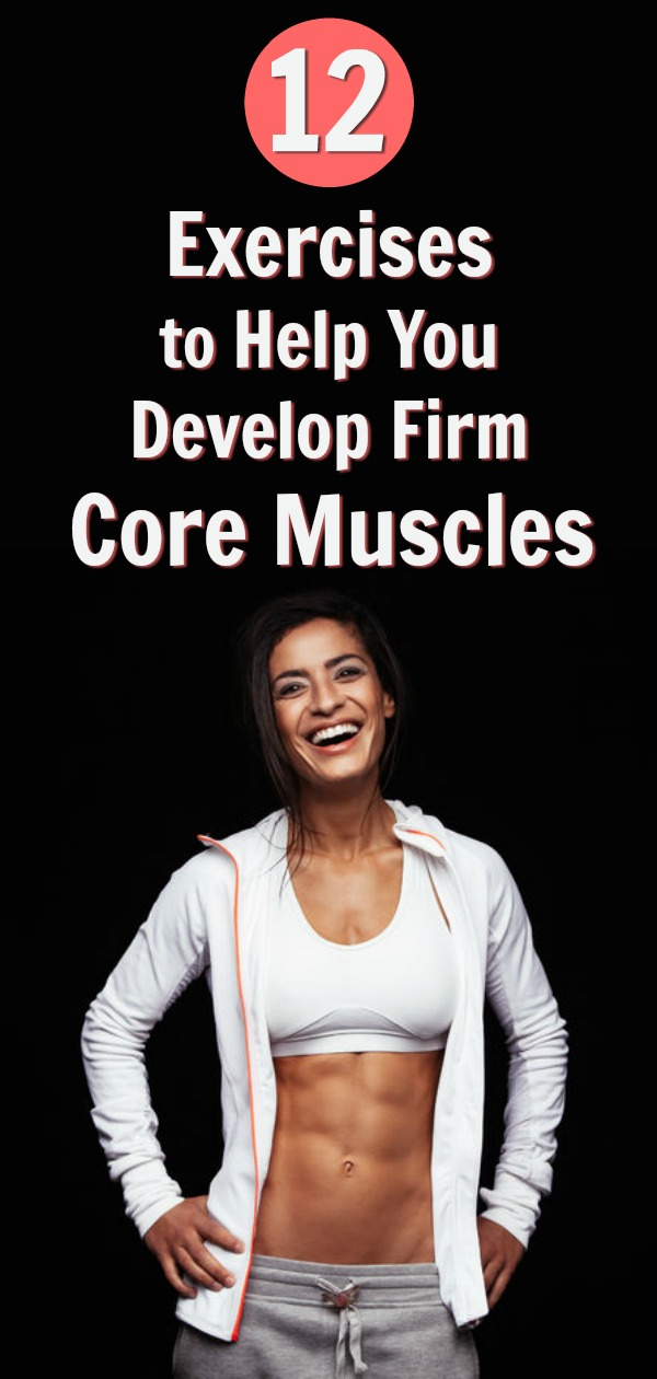 strong abs firm core muscles exercises