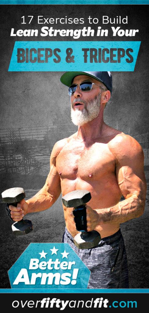 man doing hammer curl exercise