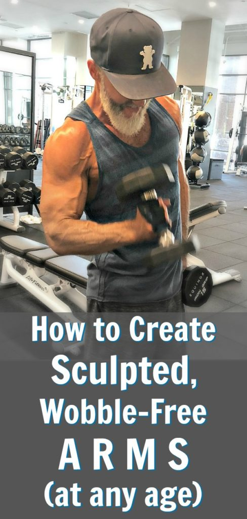 arms sculpted over 50
