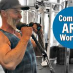 complete arm workout bicep tricep