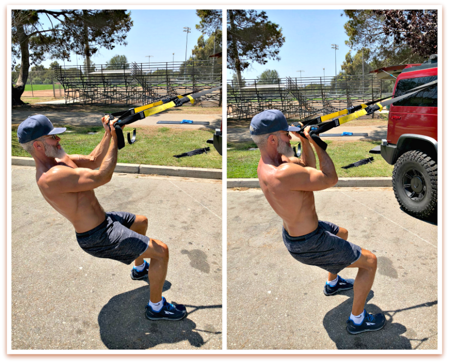 trx suspension bicep curls