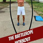 Dane Findley, age 53, uses battle ropes as a way to keep workouts fun and effective.
