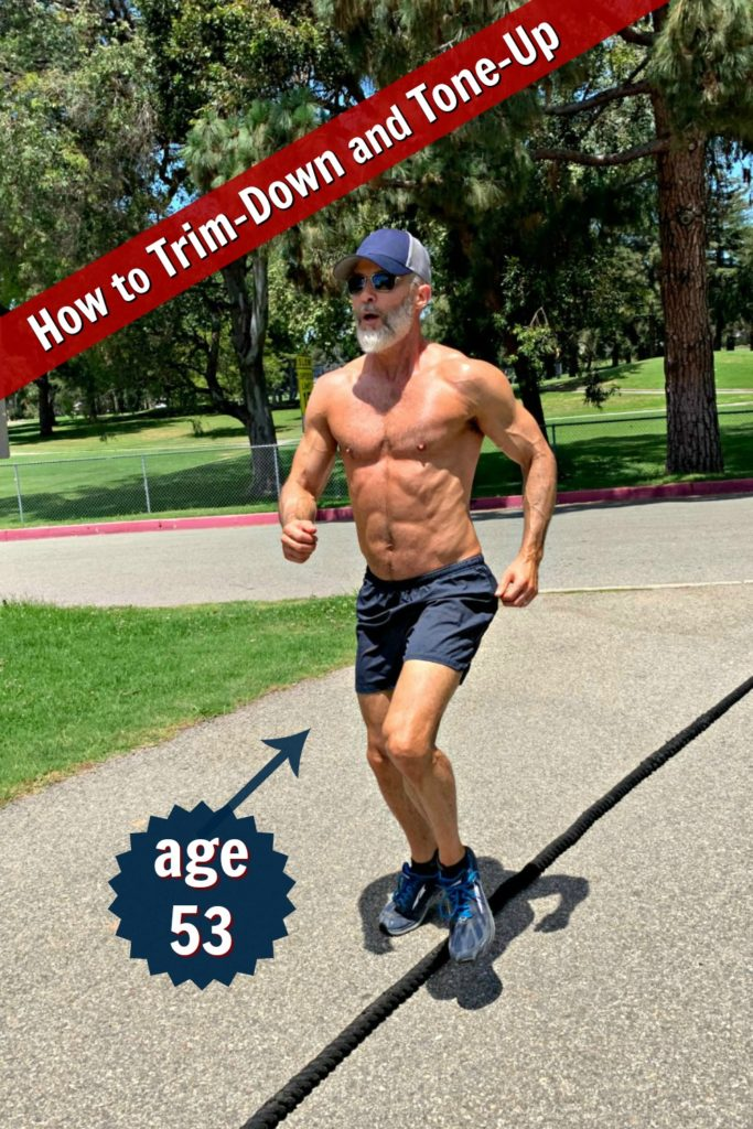 Mature, fit athlete coaches others on how achieve new level of fitness after the age of 50.