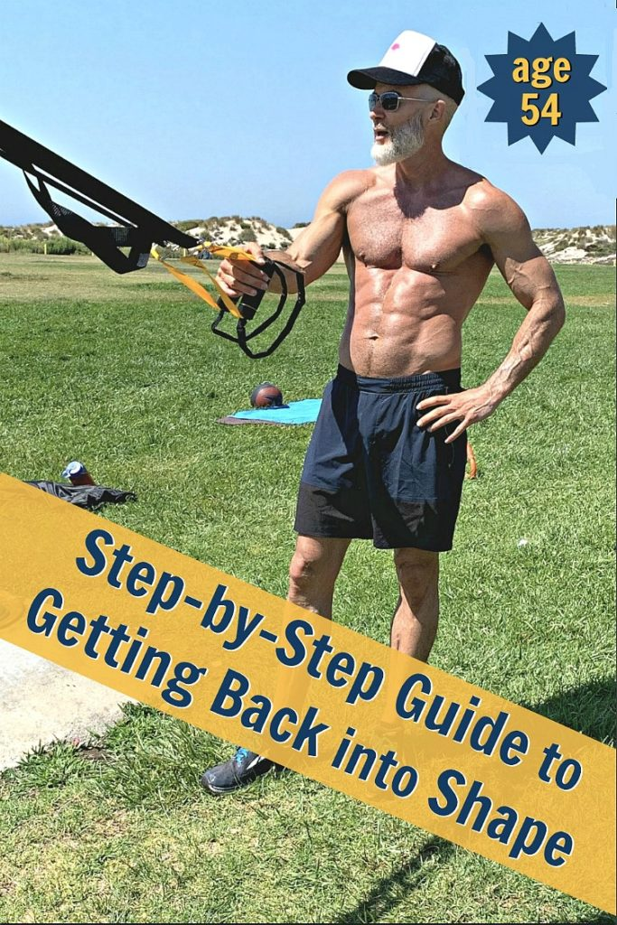 fit athlete over 50 teaches others how to get back into shape
