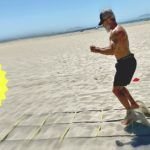 beach barefoot sand workout