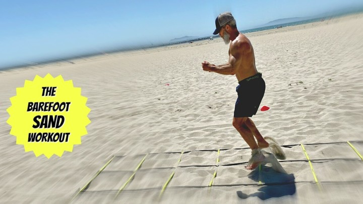 Barefoot Workout: Try These Beach Sand Drills for Healthier Feet  [Video]