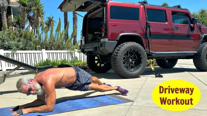 Driveway Fitness Training: a Full-Body Workout for Healthy Muscles and Fat Loss