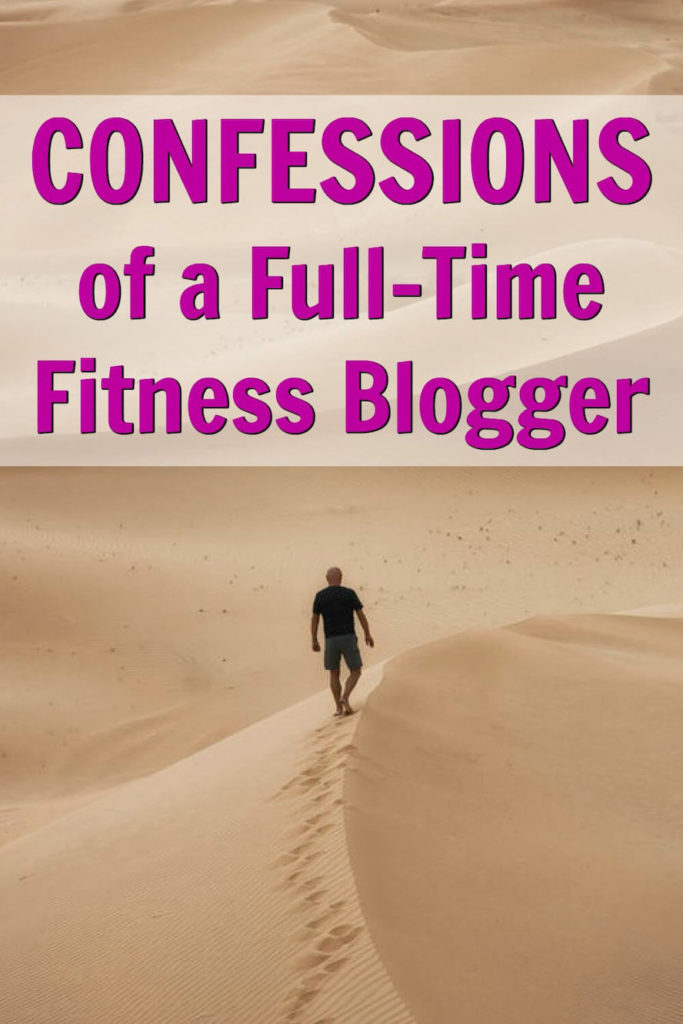 fitness blogger confession
