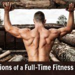 Mature athlete presses log, makes confession