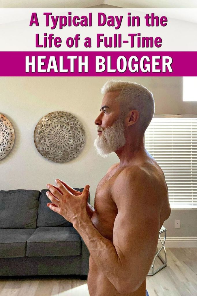 Dane Findley health blogger typical day