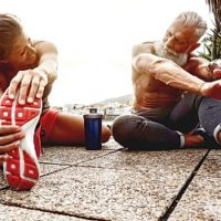 mature couple muscle group health goals