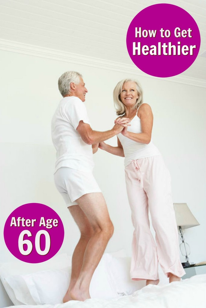 mature couple getting healthy