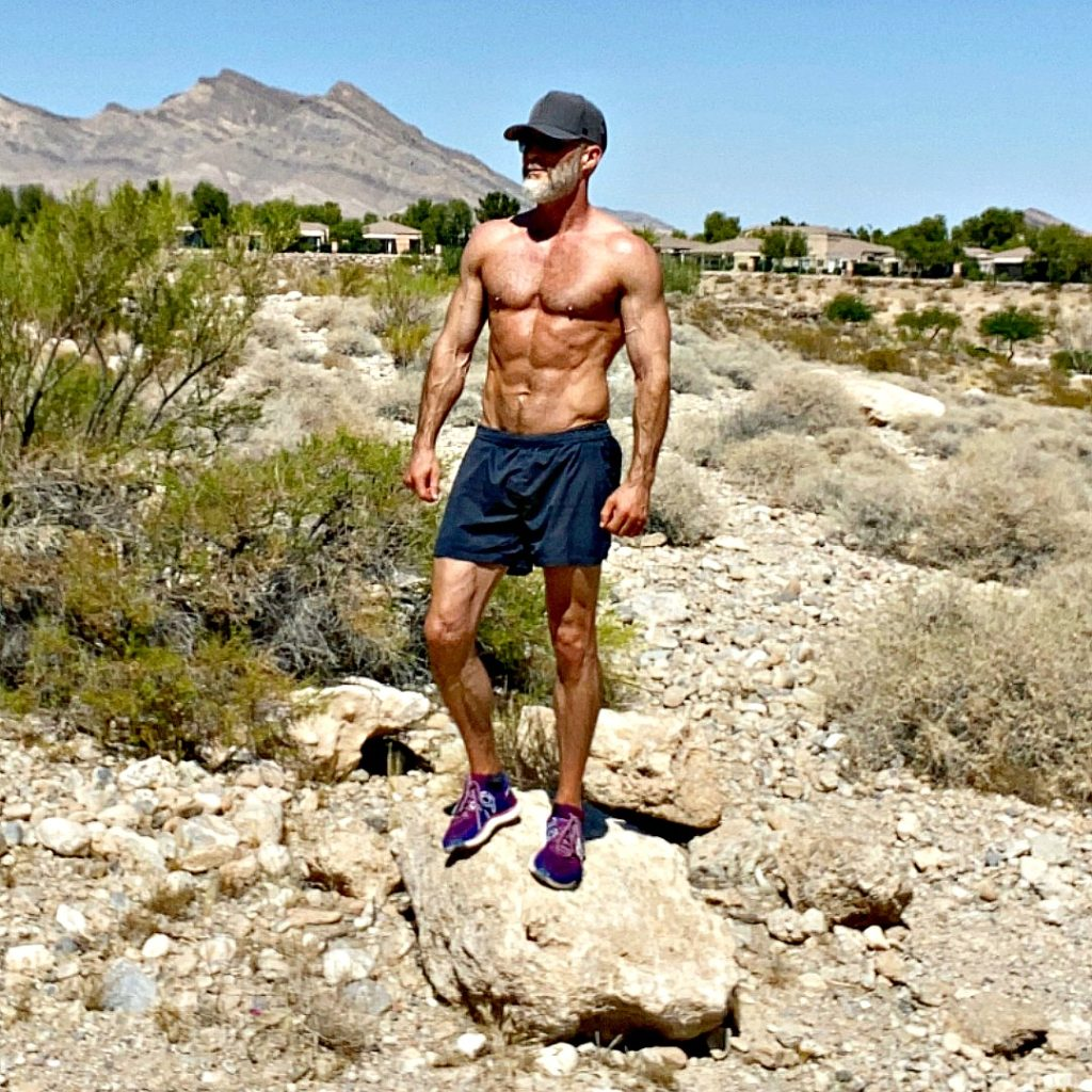 Dane Findley, age 55, eats an anti-inflammatory diet and lives the longevity lifestyle.