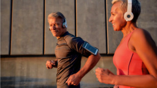 fit couple implementing lifestyle upgrades