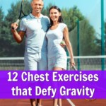 Mature active couple with fit chests