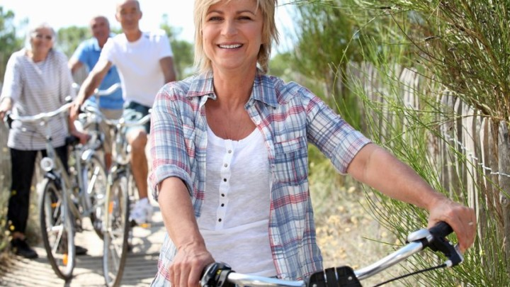 friends over 50 improving their health