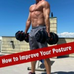 Mature athlete strengthening posture and losing weight