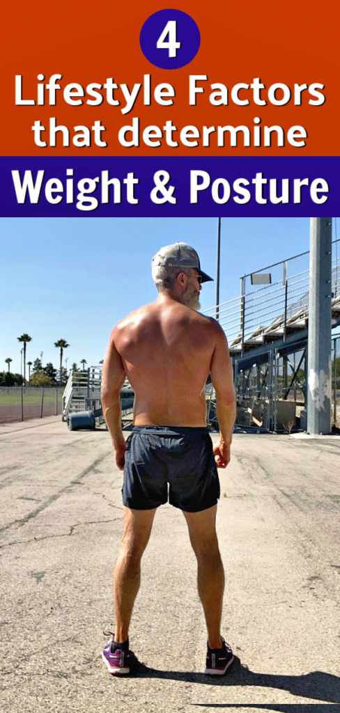 older man improving his weight and posture