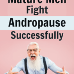 mature man successfully fighting andropause