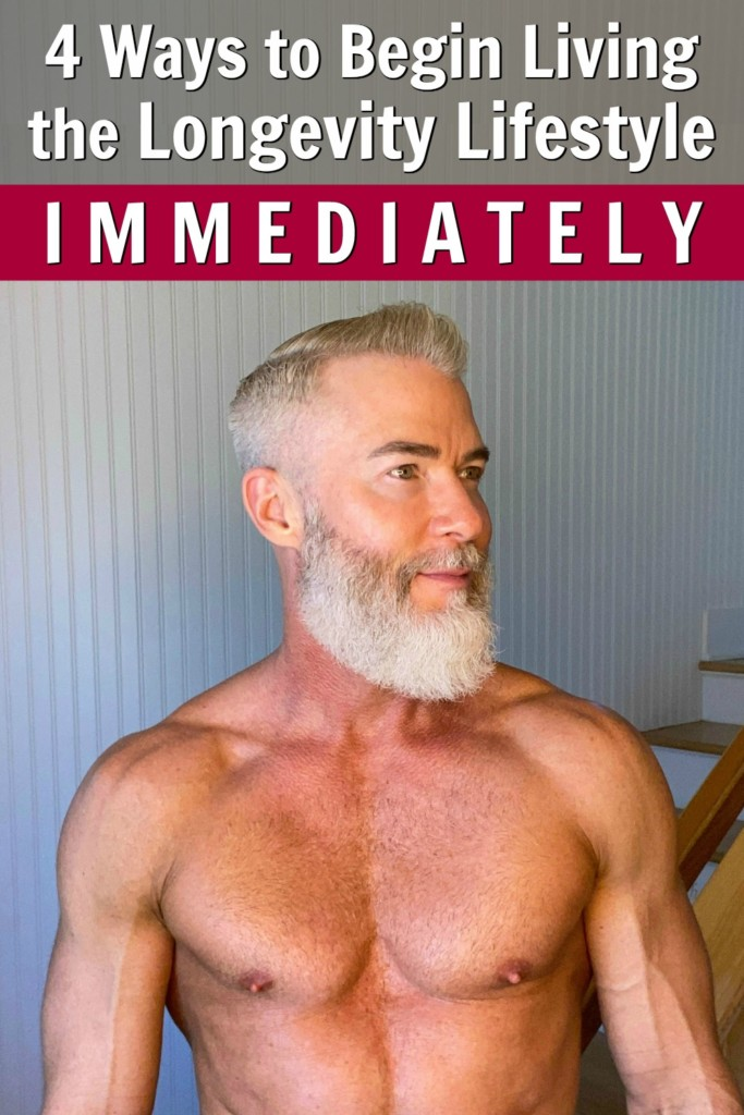 fit senior man living longevity lifestyle