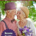 senior couple in healthy romantic partnership