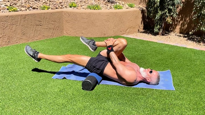 foam roller warm-up after age 50