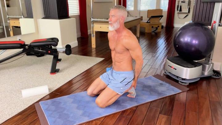 active VS passive stretching