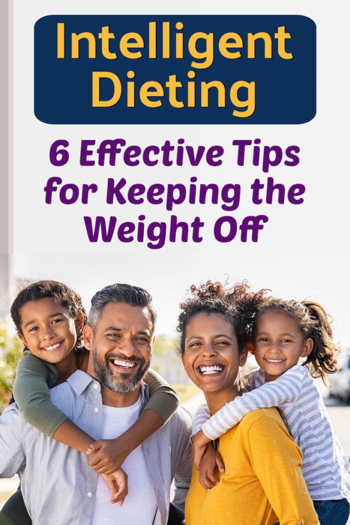 healthy family celebrates period of successful dieting