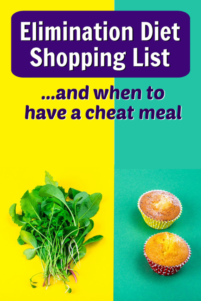 elimination diet shopping list cheat meal
