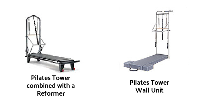 exercises can be done on variations of the pilates tower