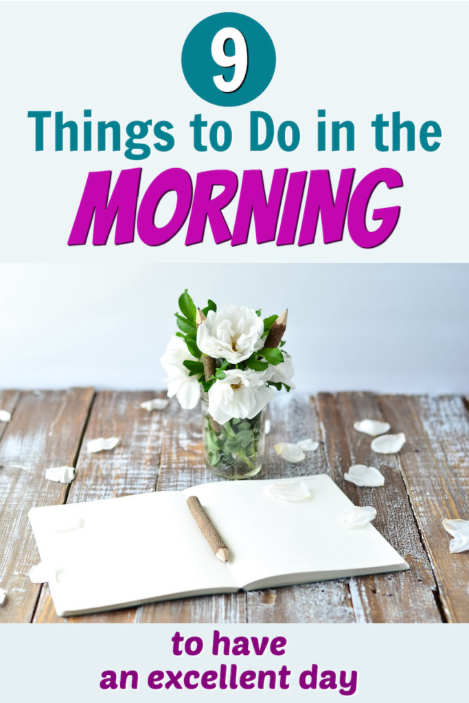 things to do in the morning